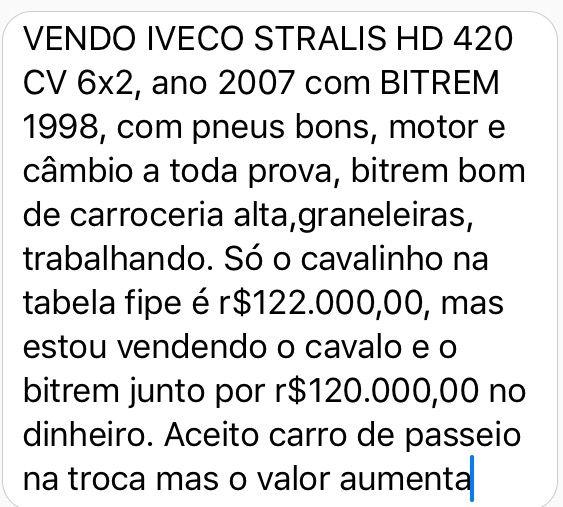 Iveco Stralis HD 570-S42T 6X2 (3 Eixos) - Foto #4