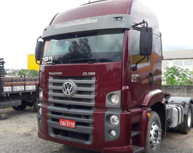 Volkswagen Constellation 25.390 6x2 Tractor - Foto #1
