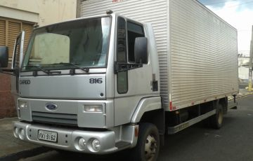 Ford Cargo 816 - Foto #1