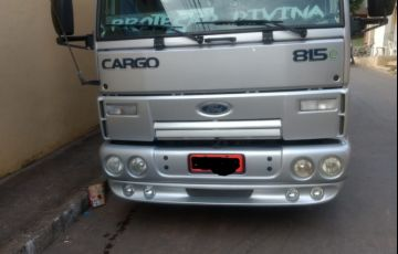 Ford Cargo 815-T 4X2 (Eletronico) - Foto #4