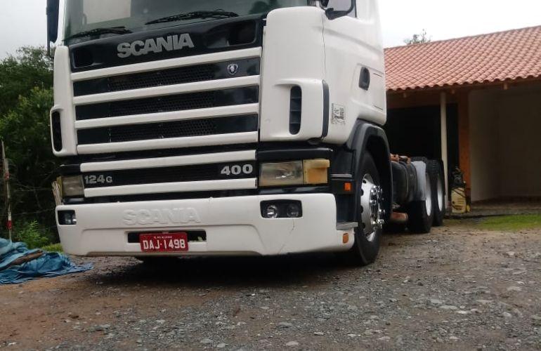 Scania R-124 GA 400 6X4 (3 Eixos) NZ - Foto #1
