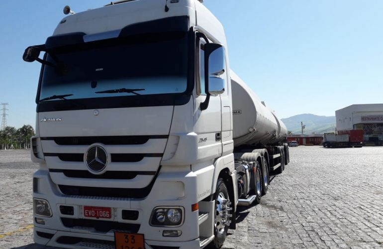 Mercedes-Benz Actros 2546 LS Megaspace Plus (Segurança) (6X2) - Foto #4