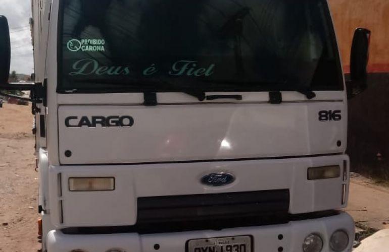 Ford Cargo 816 - Foto #8