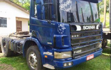 Scania P-124 CA 420 6X4 (3 Eixos) NZ
