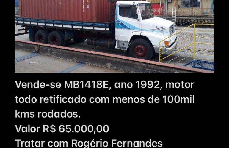 Mercedes-Benz 1418 (3 Eixos) - Foto #5