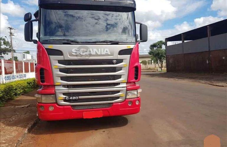 Scania G-420 A 4X2 SZ(Reb. 3 Eixos) - Foto #1