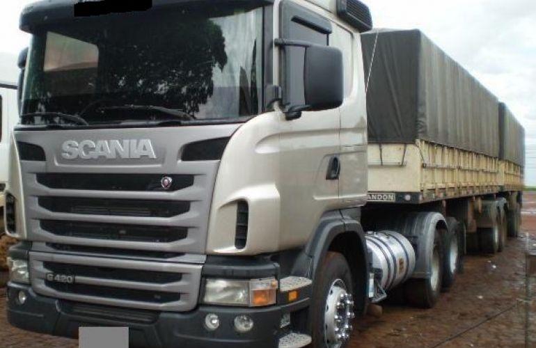 Scania G-420 A 6X4 SZ(Reb. 3 Eixos) - Foto #1