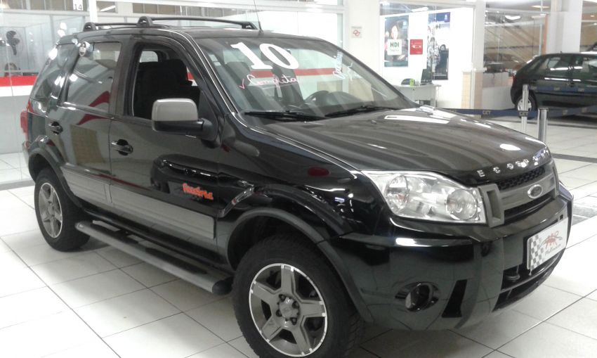 Ford Ecosport Xlt Freestyle 1 6  Flex  2009  2010 - Sal U00e3o Do Carro