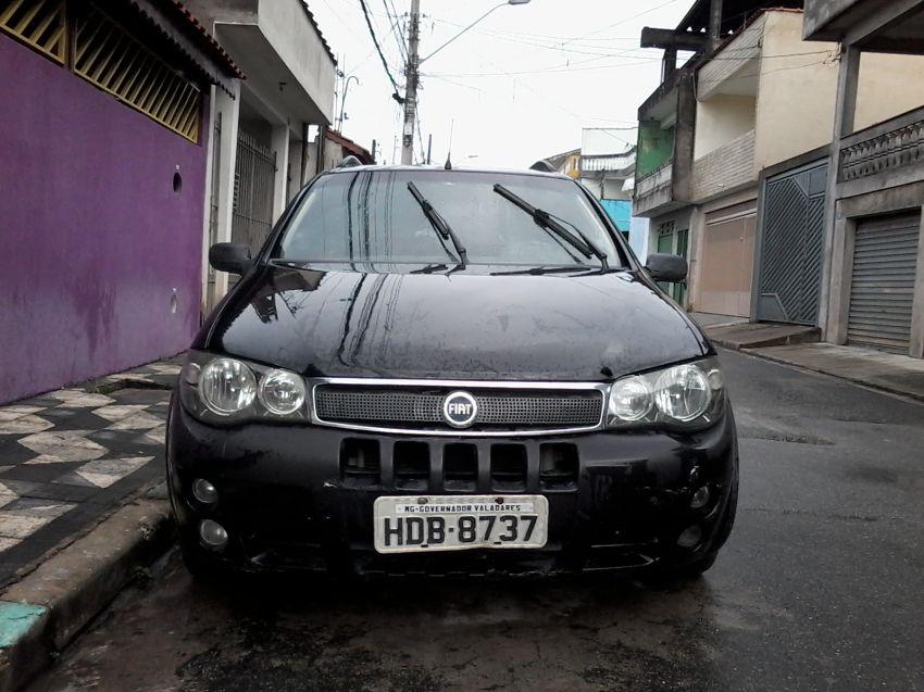 Fiat Strada Adventure Locker 1 8 8v  Flex   Cab Estendida  2007  2007 - Sal U00e3o Do Carro