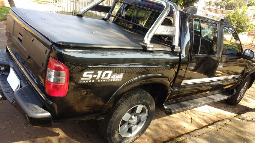 Chevrolet S10 Executive 4x4 2.8 Turbo Electronic (Cab Dupla) - Foto #8