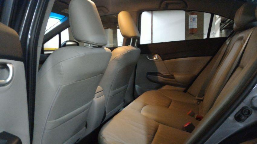 Honda New Civic LXR 2.0 i-VTEC (Flex) (Aut) - Foto #8