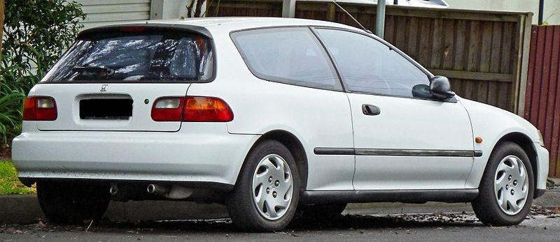Honda Civic Hatch. LSI 1.6 16V (aut) - Foto #1