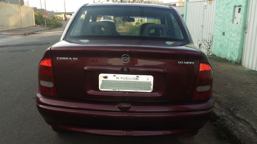 Chevrolet Corsa Sedan GL 1.6 MPFi - Foto #4