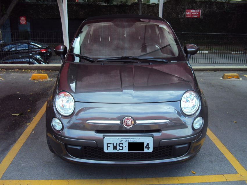 Fiat 500 Cabrio Dualogic 1.4 Evo (Flex) - Foto #1