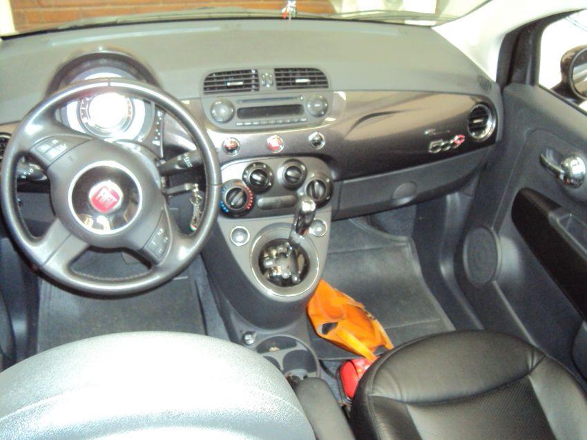 Fiat 500 Cabrio Dualogic 1.4 Evo (Flex) - Foto #7