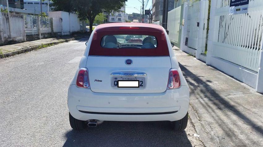 Fiat 500 Cabrio 1.4 Evo (Flex) - Foto #5