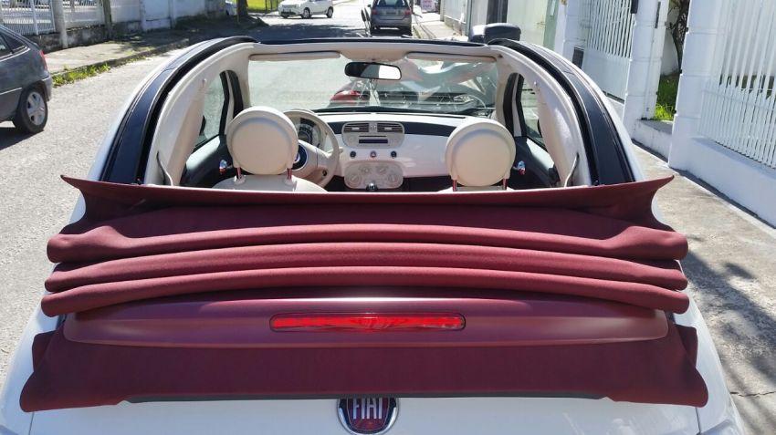 Fiat 500 Cabrio 1.4 Evo (Flex) - Foto #8