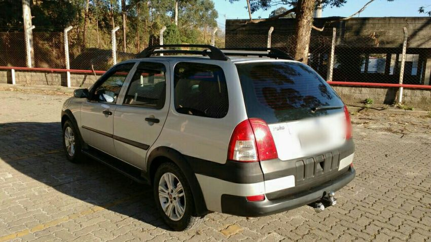 Fiat Palio Weekend HLX 1.8 8V (Flex) - Foto #9