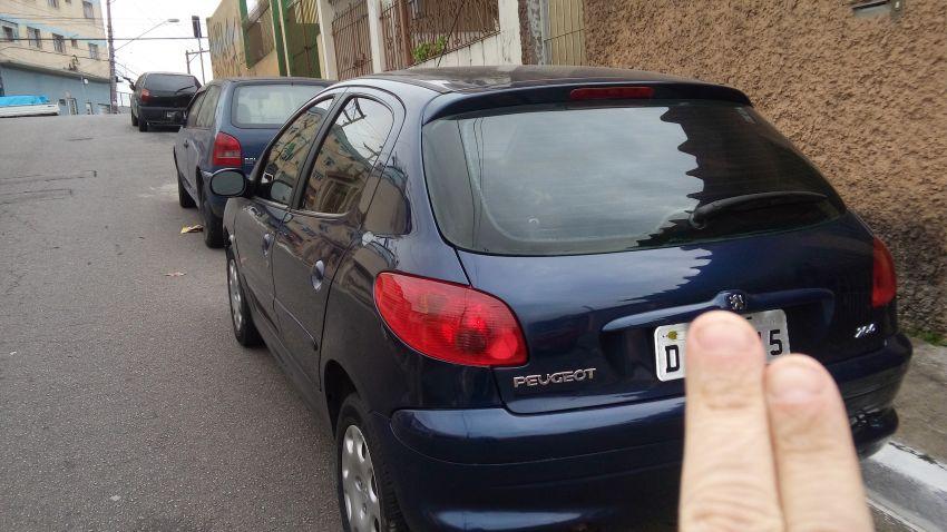 Peugeot 206 Hatch. Soleil 1.0 16V - Foto #6