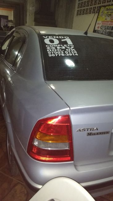 Chevrolet Astra Sedan GL Milenium 1.8 MPFi - Foto #1