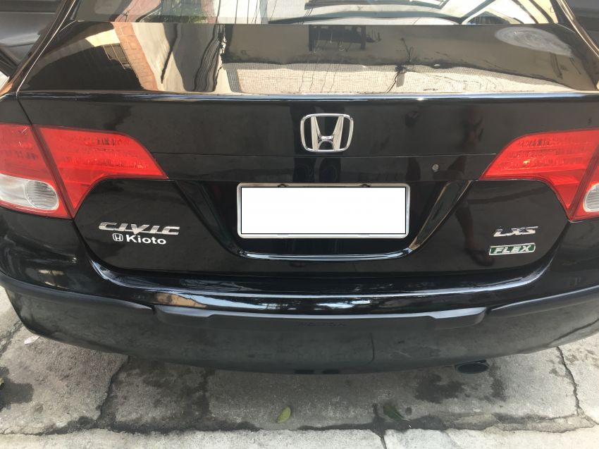Honda New Civic LXS 1.8 (aut) (flex) - Foto #7