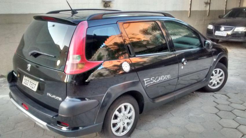 Peugeot 206 SW Escapade 1.6 (flex) - Foto #5