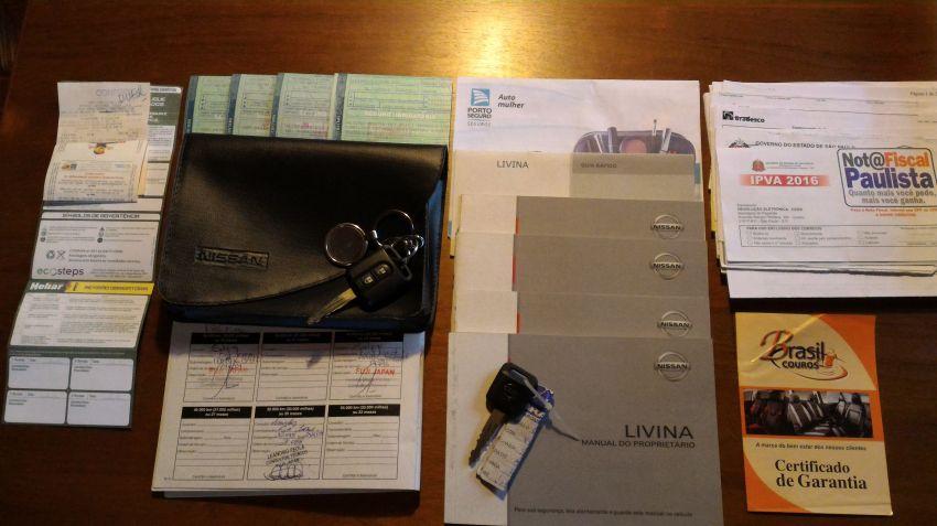 Nissan Livina S 1.6 16V (flex) - Foto #3