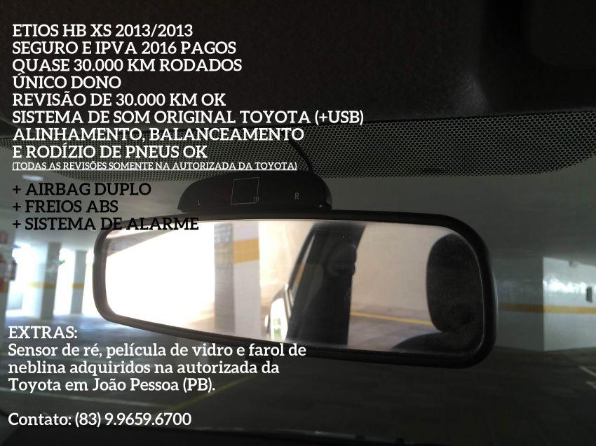 Toyota Etios XS 1.3 (Flex) - Foto #2