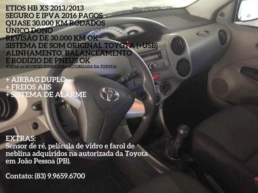 Toyota Etios XS 1.3 (Flex) - Foto #6