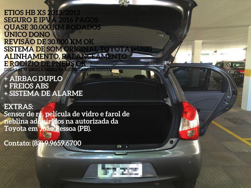 Toyota Etios XS 1.3 (Flex) - Foto #9