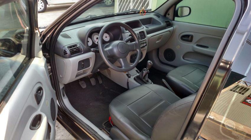 Renault Clio Authentique 1.0 16V (Flex) 2p - Foto #6