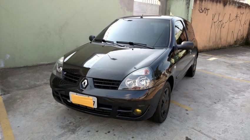 Renault Clio Authentique 1.0 16V (Flex) 2p - Foto #9