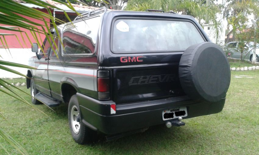 Chevrolet D20 Pick Up Custom S Turbo 4.0 (Cab Dupla) - Foto #4
