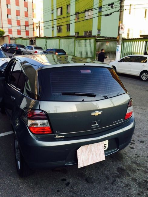 Chevrolet Agile LTZ 1.4 (Flex) - Foto #2