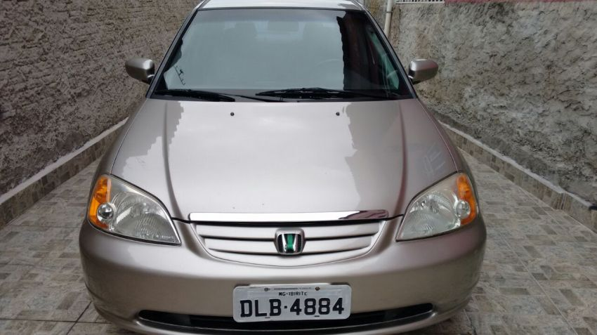 Honda Civic Sedan LXL 1.7 16V (aut) - Foto #3