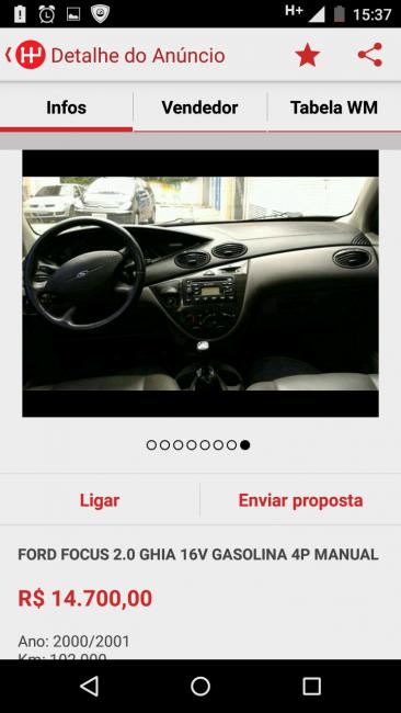Ford Focus Hatch Ghia 2.0 16V - Foto #2