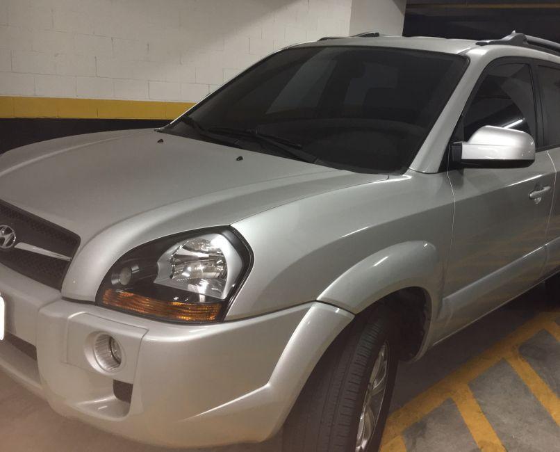 Hyundai Tucson 2.0L 16v GLS Top (Flex) (Aut) - Foto #7