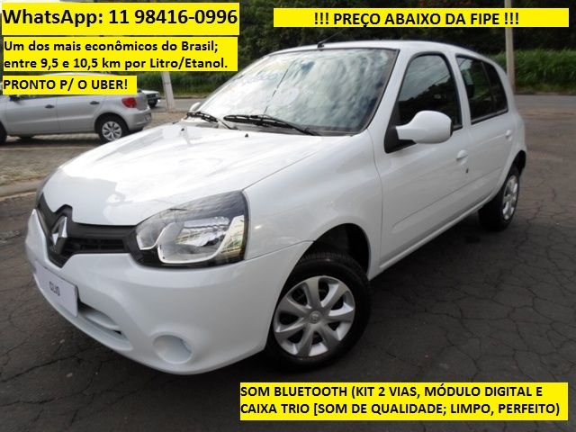 Renault Clio Expression 1.0 16V (Flex)