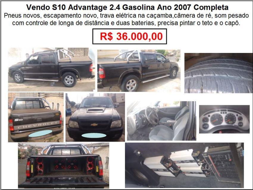 Chevrolet S10 2.4 Advantage (Cab Dupla)