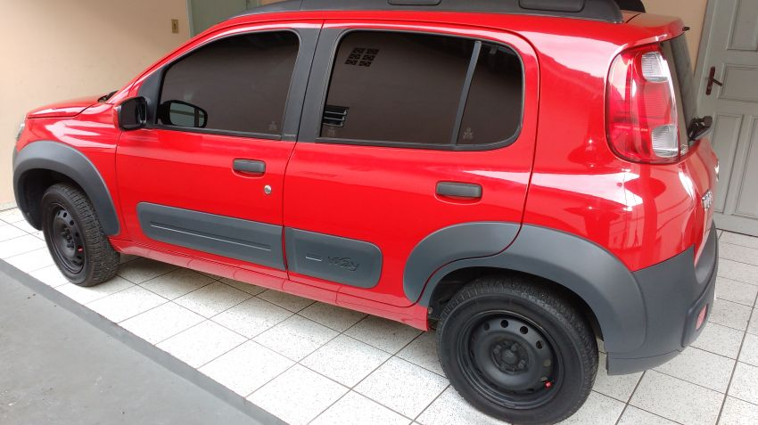 Fiat Uno Way 1.0 (Flex) 4p - Foto #3
