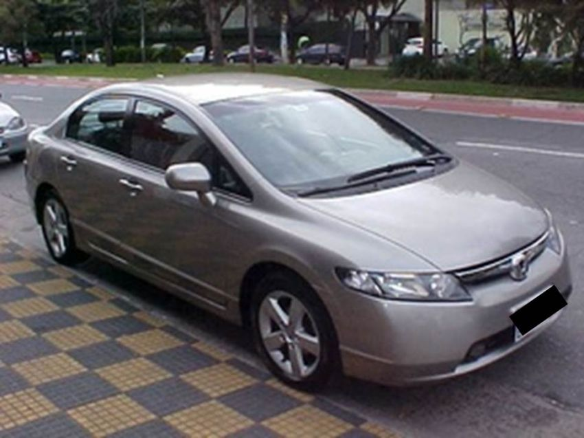 Honda New Civic LXS 1.8 (aut) (flex)