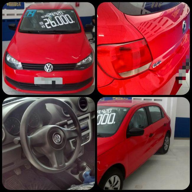 Volkswagen Gol 1.0 MI 16V Série Ouro - Foto #6