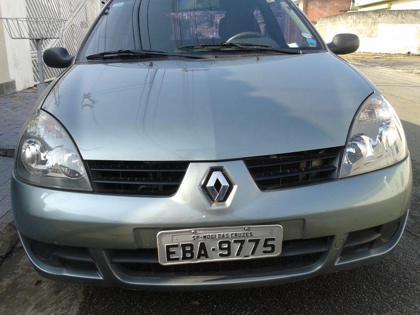 Renault Clio Authentique 1.0 16V (Flex) 2p - Foto #2