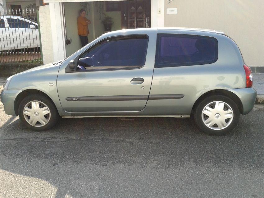 Renault Clio Authentique 1.0 16V (Flex) 2p - Foto #3