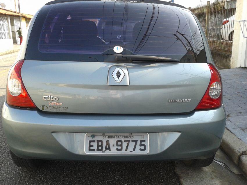 Renault Clio Authentique 1.0 16V (Flex) 2p - Foto #4