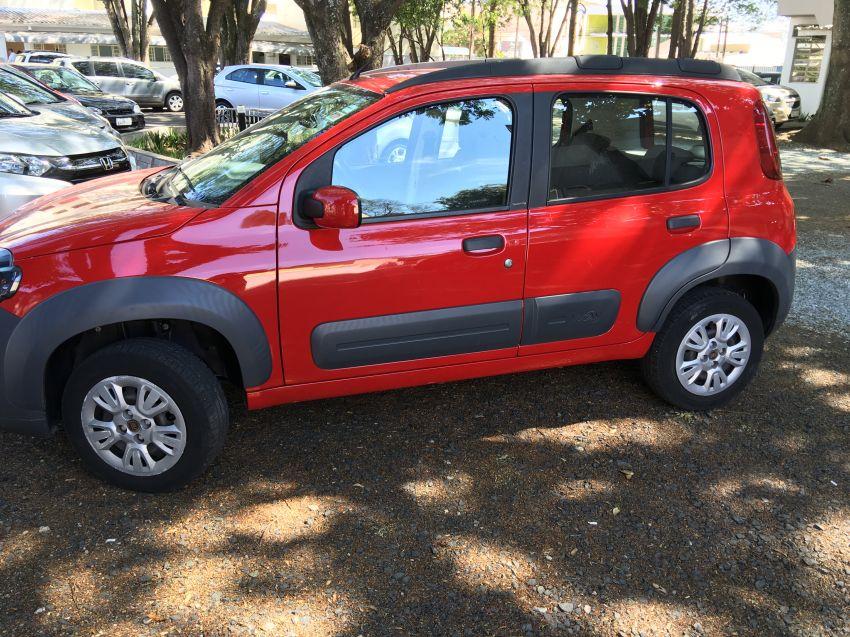 Fiat Uno Attractive 1.0 (Flex) 4p - Foto #2