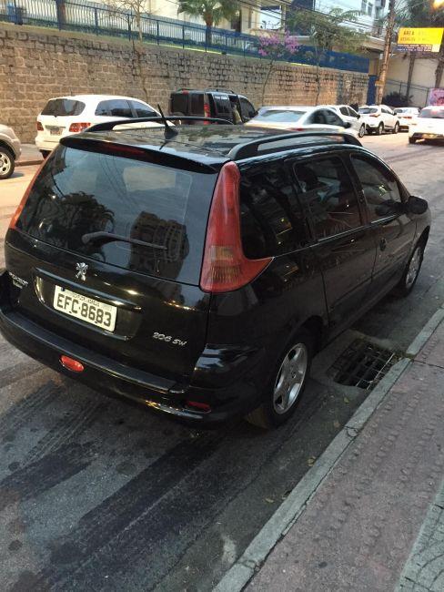 Peugeot 206 SW Feline 1.6 (flex) - Foto #4