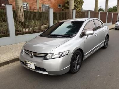 Honda New Civic LXS 1.8 (aut) (flex) - Foto #5