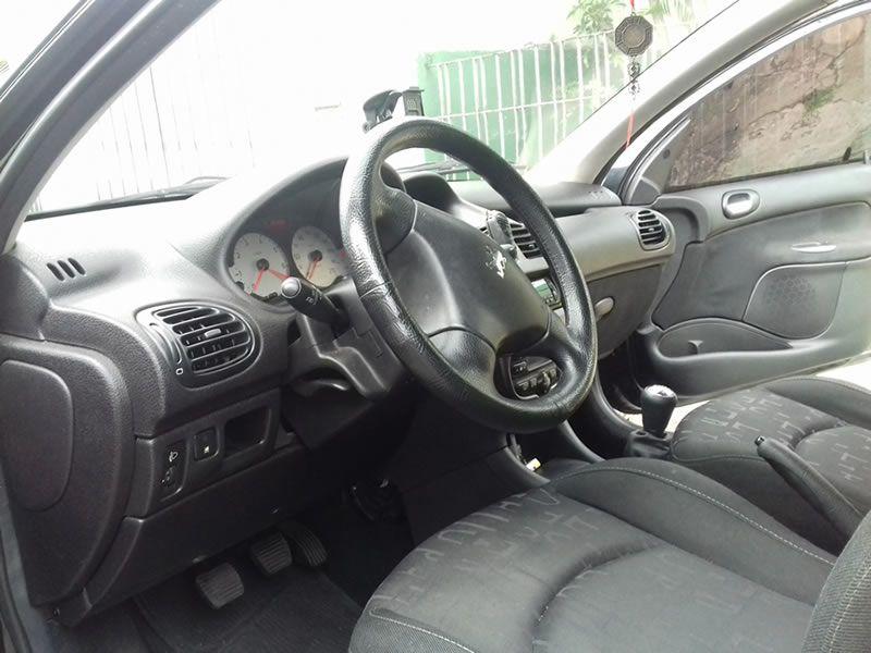 Peugeot 206 Hatch. Feline 1.6 16V (flex) - Foto #7