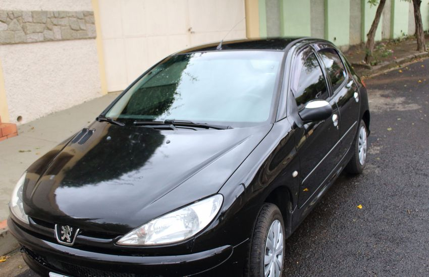 Peugeot 206 Hatch. Sensation 1.0 16V - Foto #3